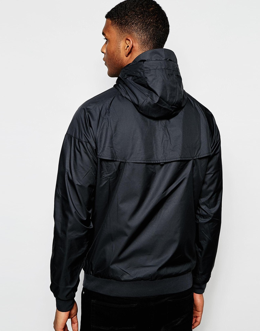 promo code 571bc 76418 Nike Windbreaker Jacket 727324-010 in Black for Men - Lyst