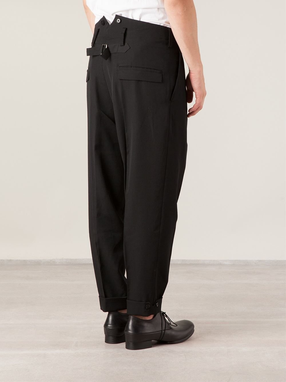 Pleated Tapered Pants Vpi Pants