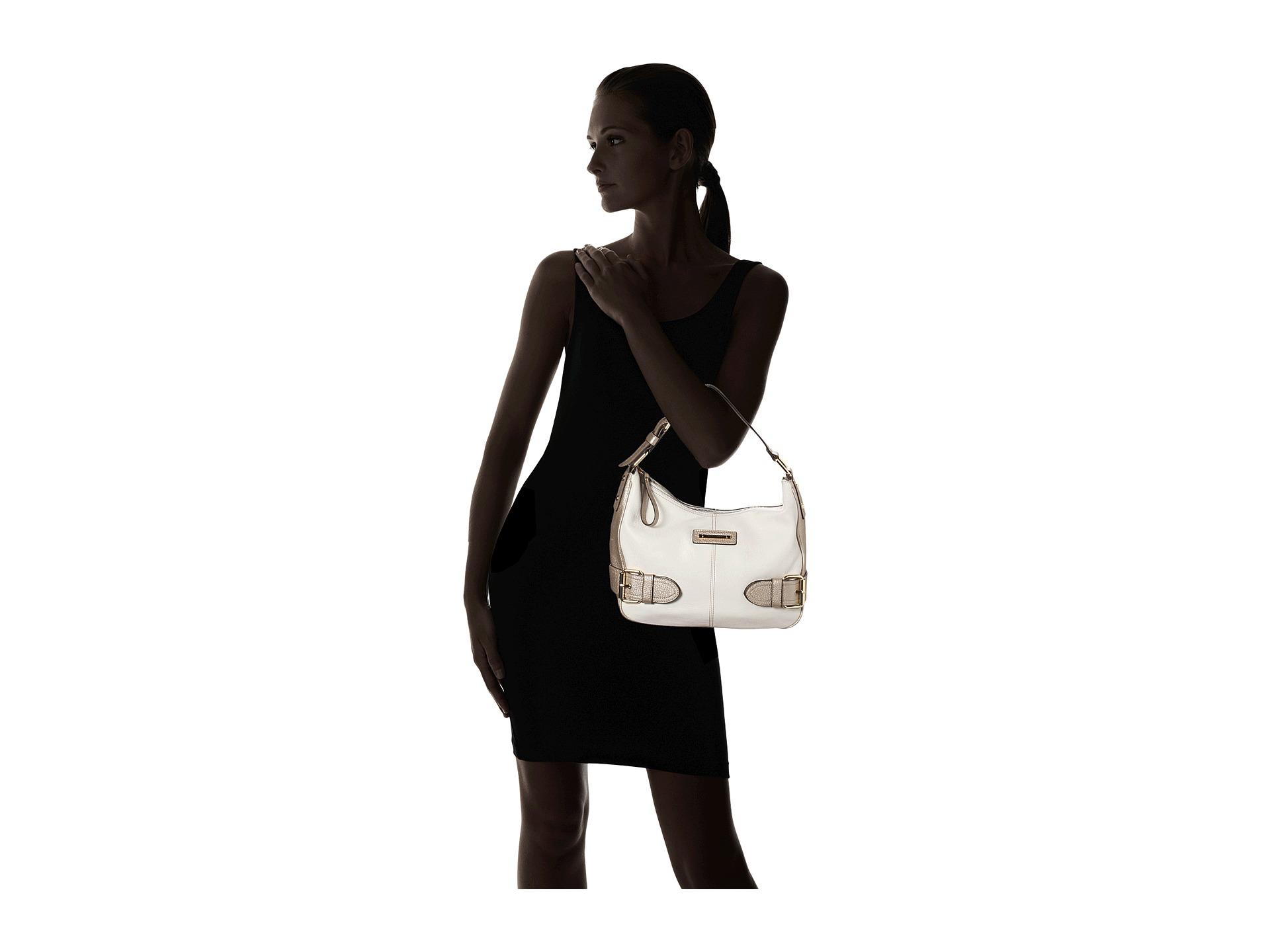 faead8ed4cf2 Lyst - Franco Sarto Jolie Hobo in White