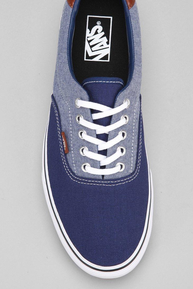 a7f7b32e078 Lyst - Vans Era 59 Canvas Chambray Men S Sneaker in Blue for Men