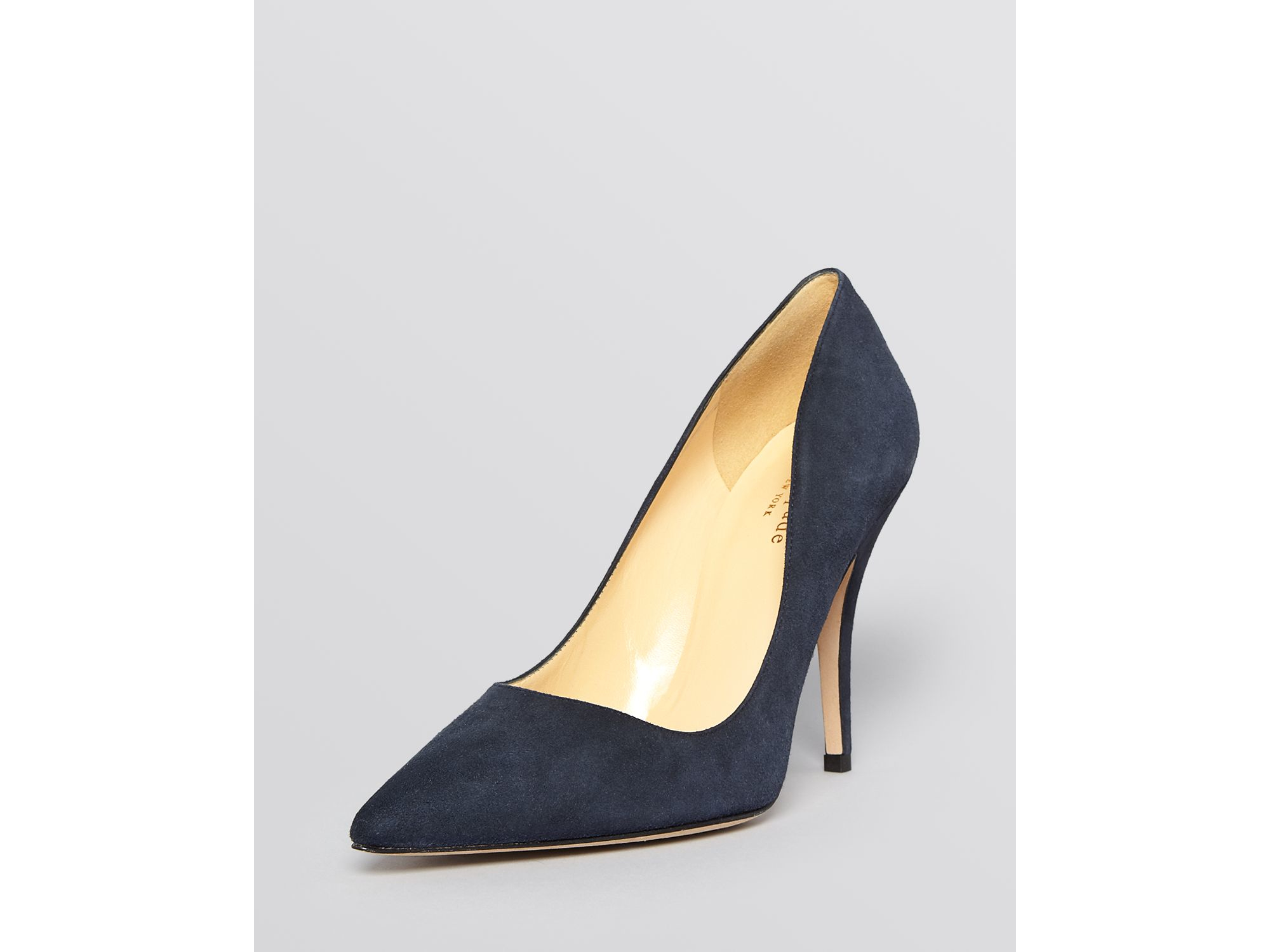 Kate Spade New York Licorice Patent High-Heel Pointed Toe Pumps