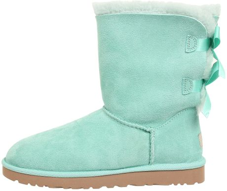 ugg bailey bow in surf spray