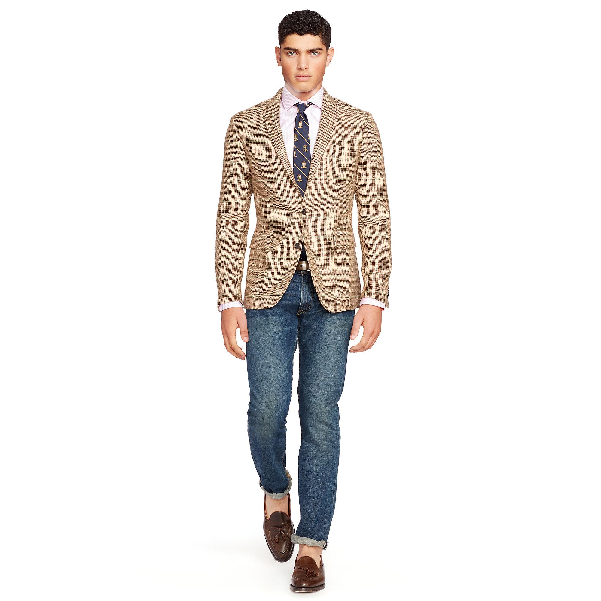 Lyst Polo Ralph Lauren Morgan Tick Weave Sport Coat In