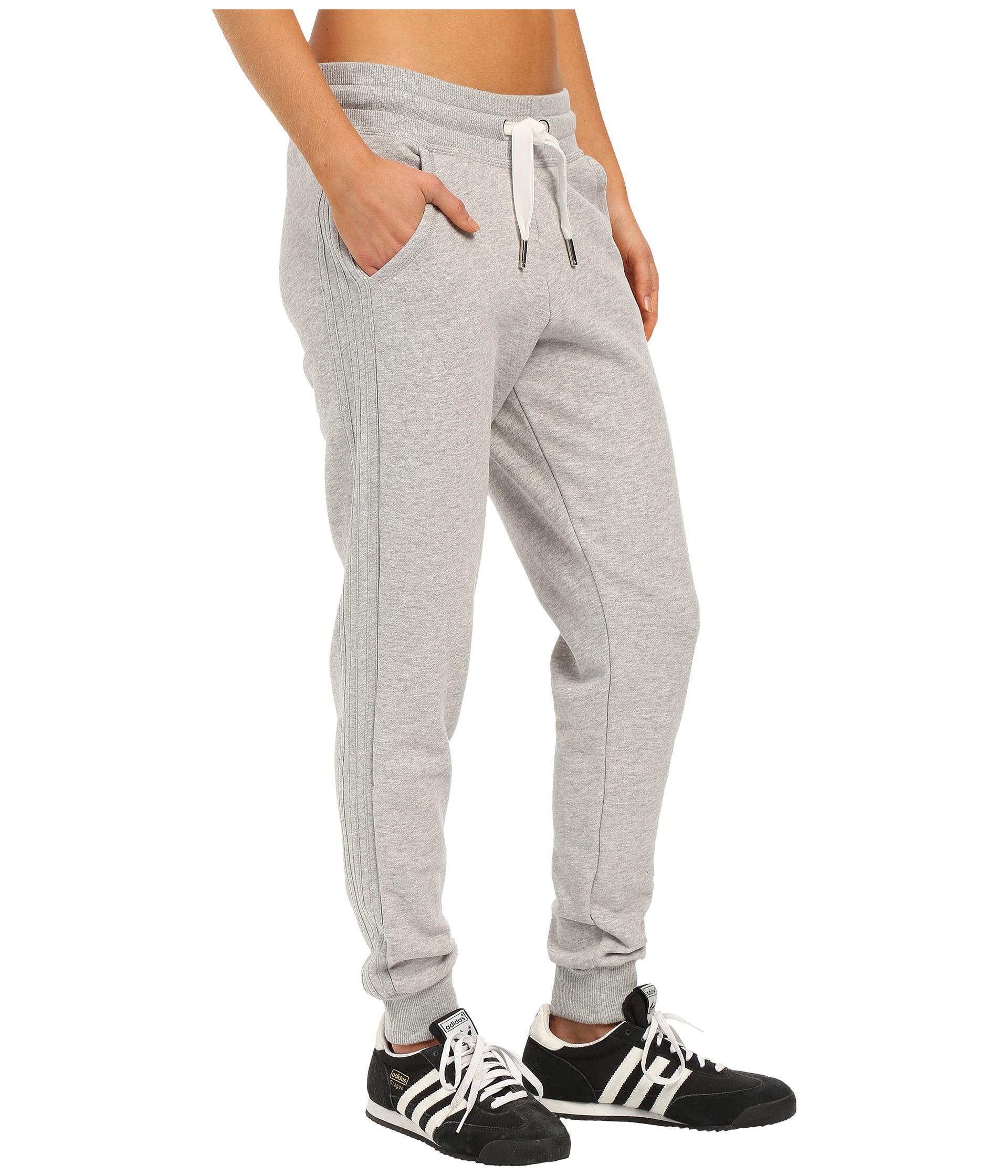 ca5e4456f0f7 Lyst - adidas Originals Slim Cuffed Track Pants in Gray for Men