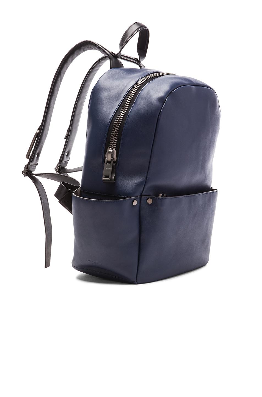 lyst calvin klein men 39 s utility backpack in black. Black Bedroom Furniture Sets. Home Design Ideas