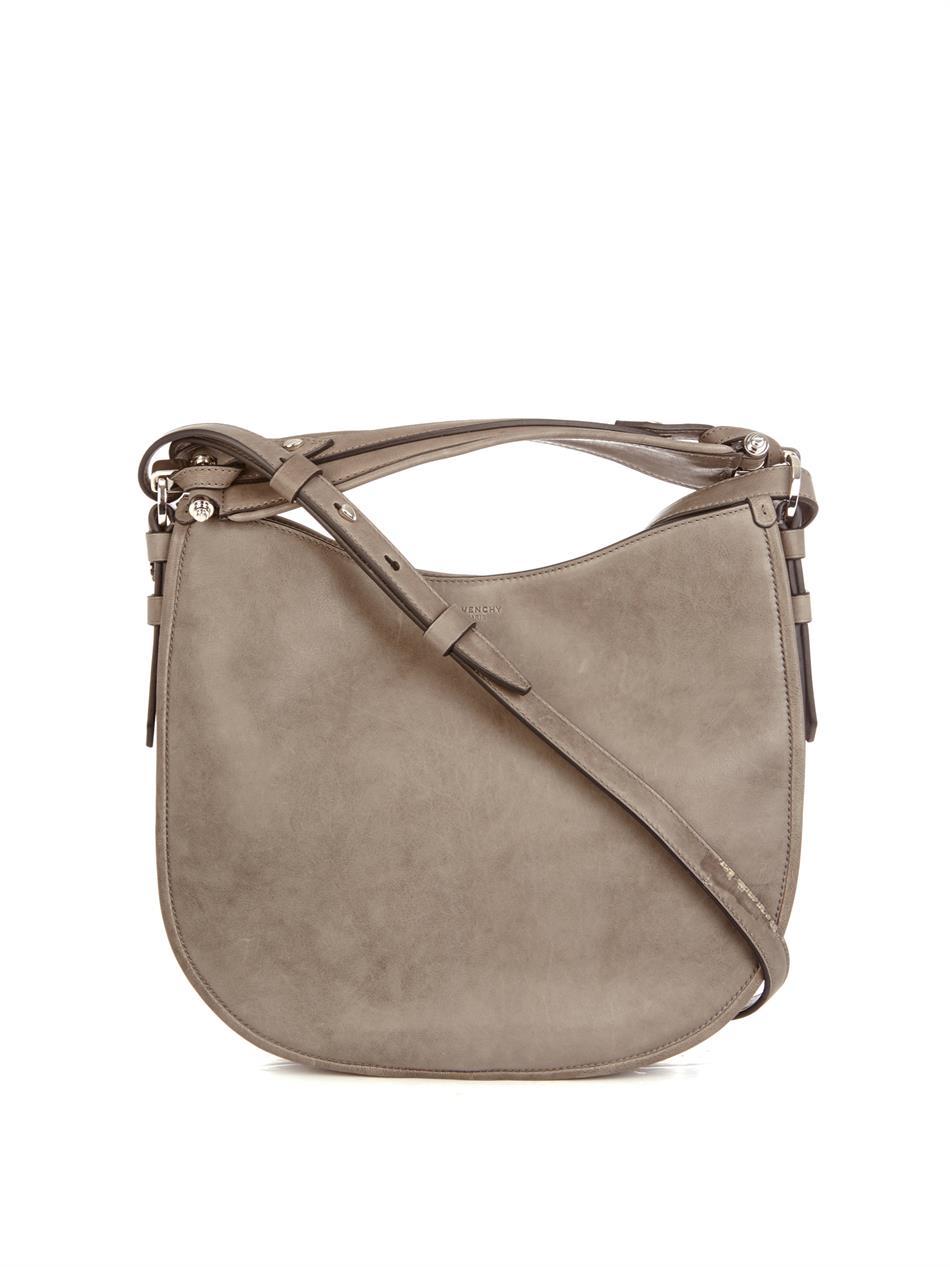 908b6283eab Givenchy Zanzi Obsedia Hobo Bag in Gray - Lyst
