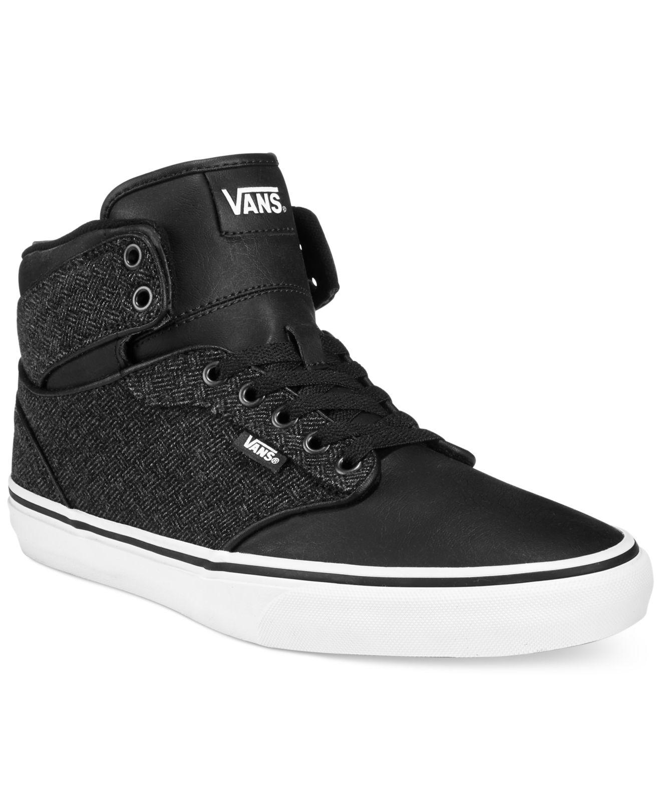 vans atwood grey sneakers