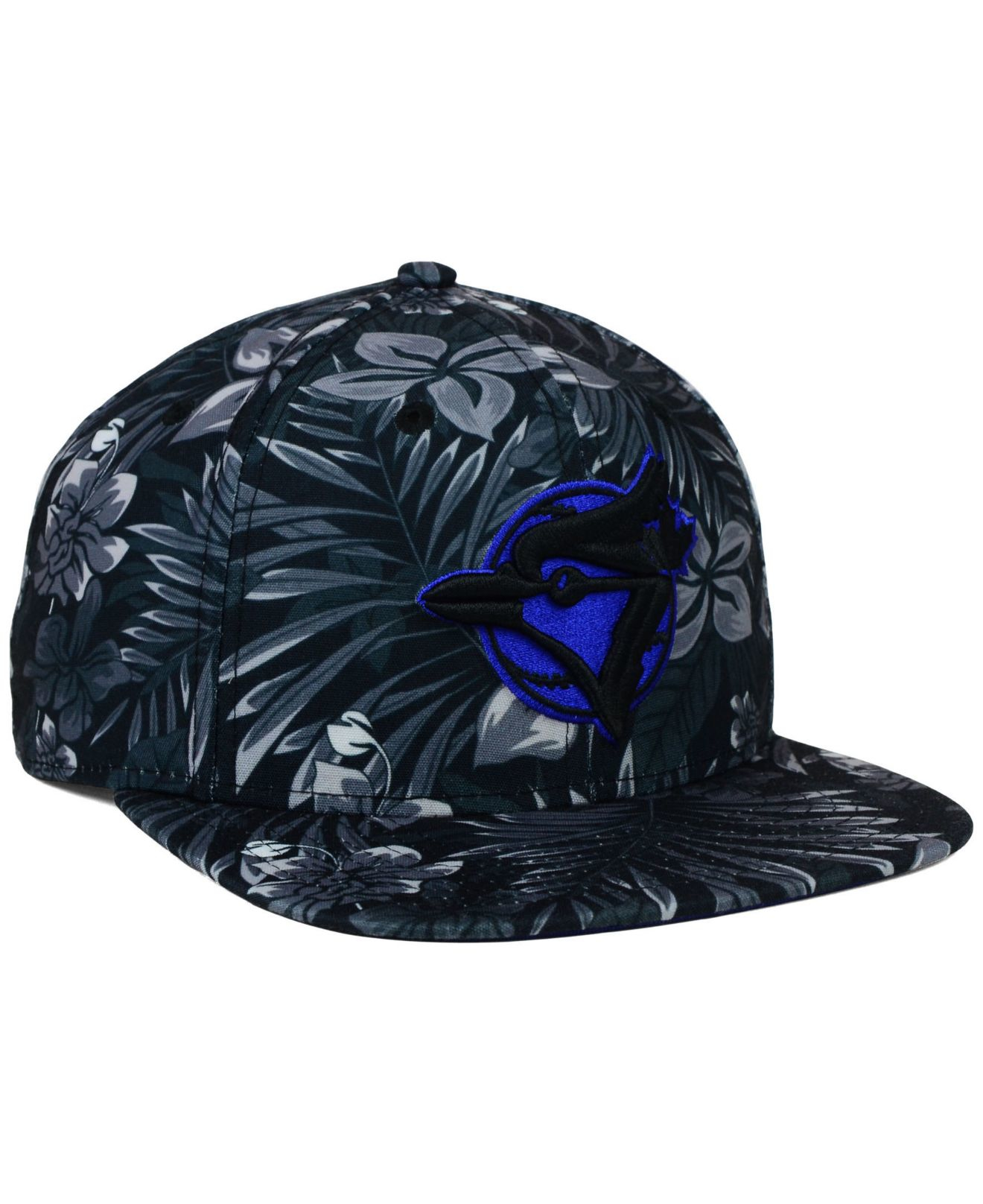 408d734bd19 Lyst - KTZ Toronto Blue Jays Night Tropic 9fifty Snapback Cap in ...