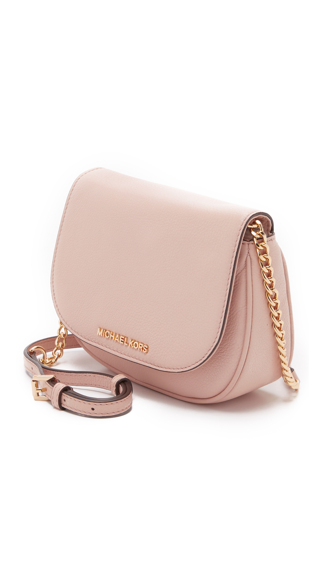 e013c344ed MICHAEL Michael Kors Bedford Small Cross Body Bag in Pink - Lyst