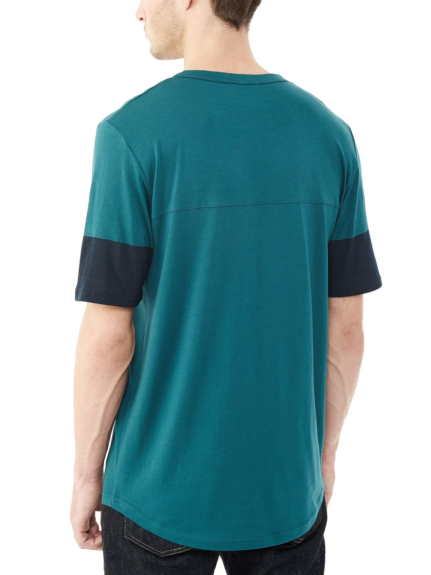 Alternative apparel hometown cotton modal t shirt in green for Modal t shirts mens