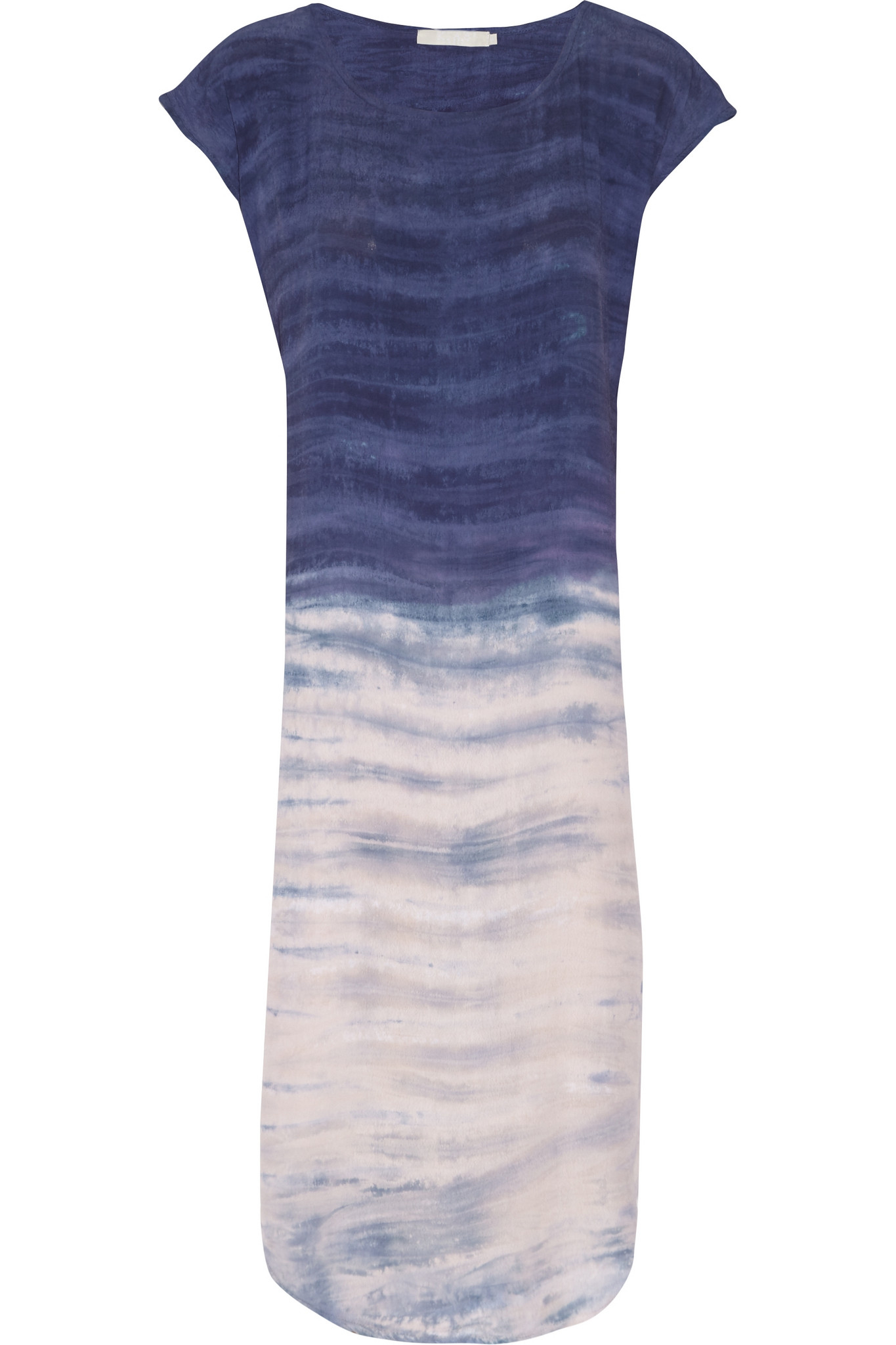 a292dae2d159 Lyst - Kain Meyer Printed Crepe Dress in Blue