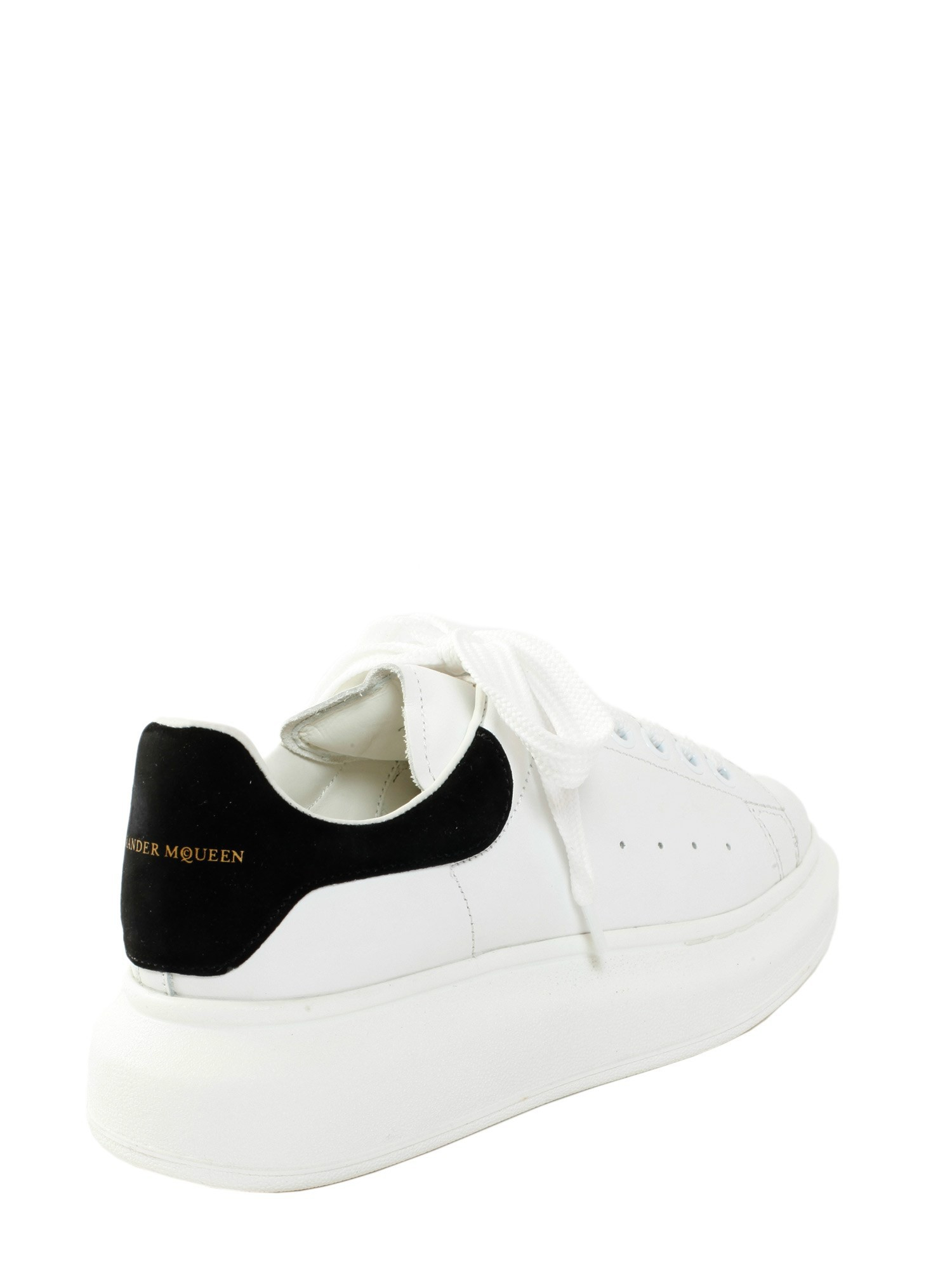 alexander mcqueen oversize sneakers in white bianco lyst. Black Bedroom Furniture Sets. Home Design Ideas