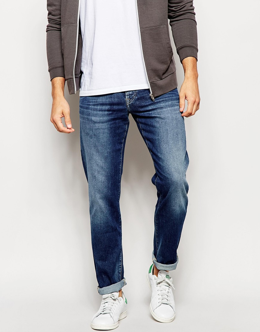 6725f8893d07 Lyst - Pepe Jeans Slim Fit Jean Cane in Blue for Men