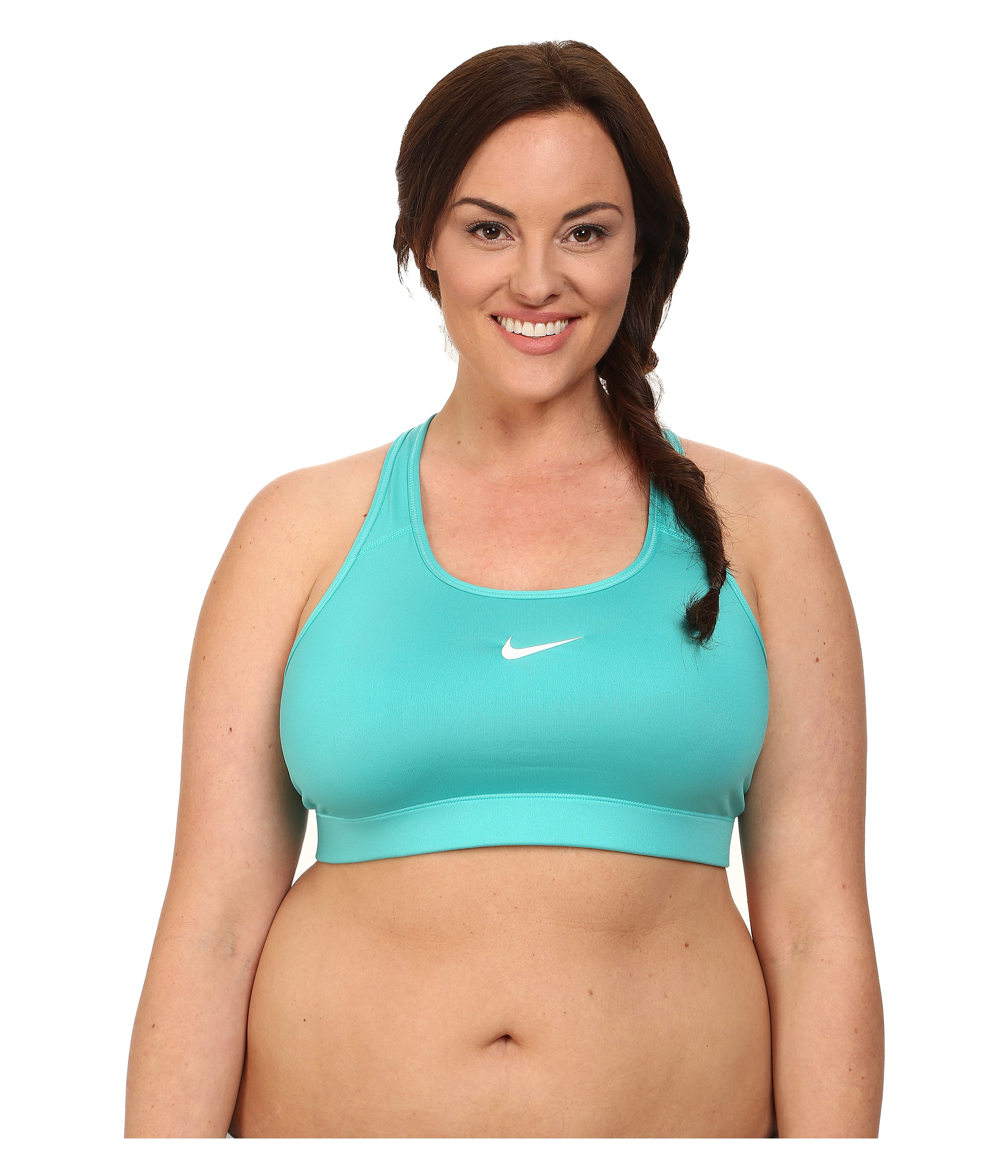 d916c5df1bbd6 Lyst - Nike Pro Victory Compression Sports Bra Extended in Green
