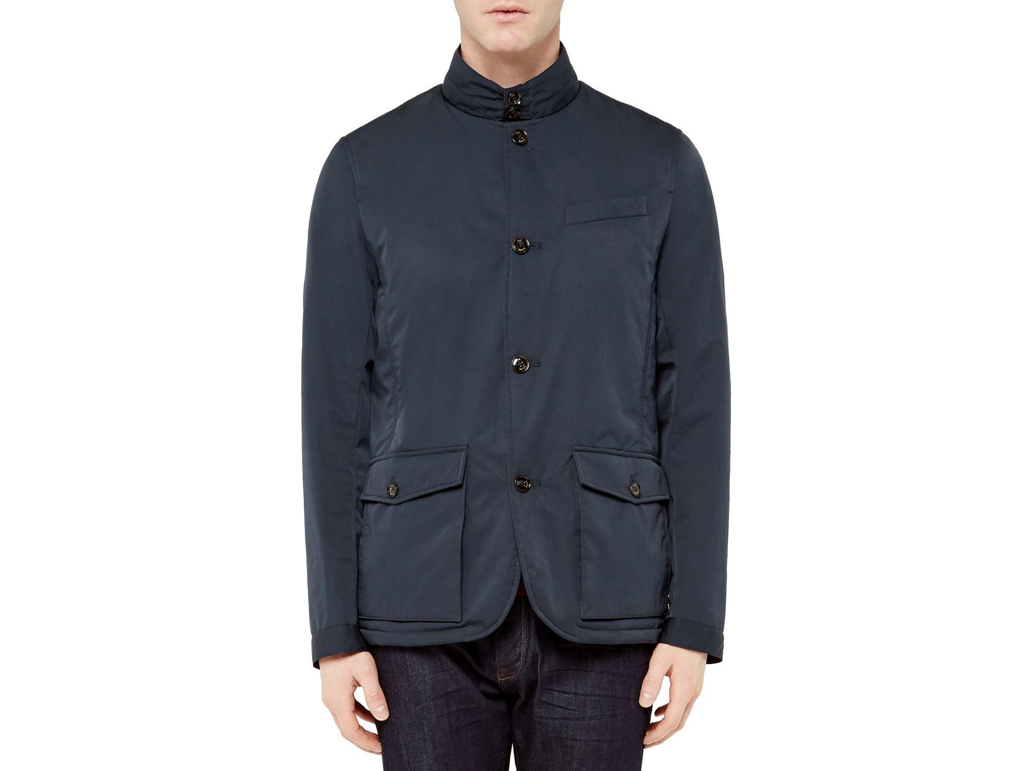 165b3e42844b76 Lyst - Ted Baker Bronski Layering Jacket in Black for Men