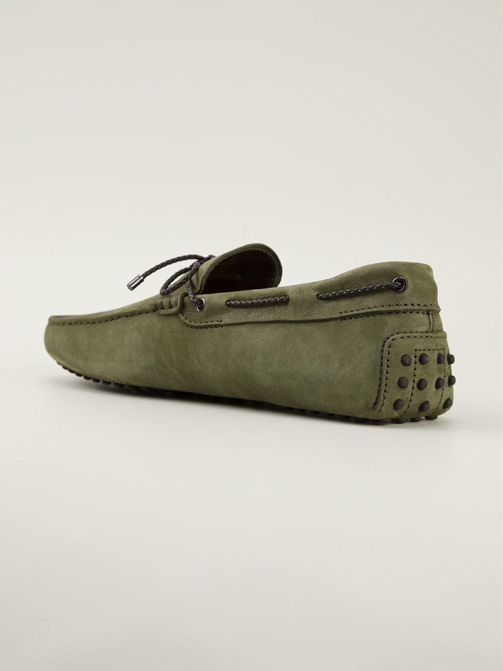 Gommino driving shoes - Green Tod's AnrET