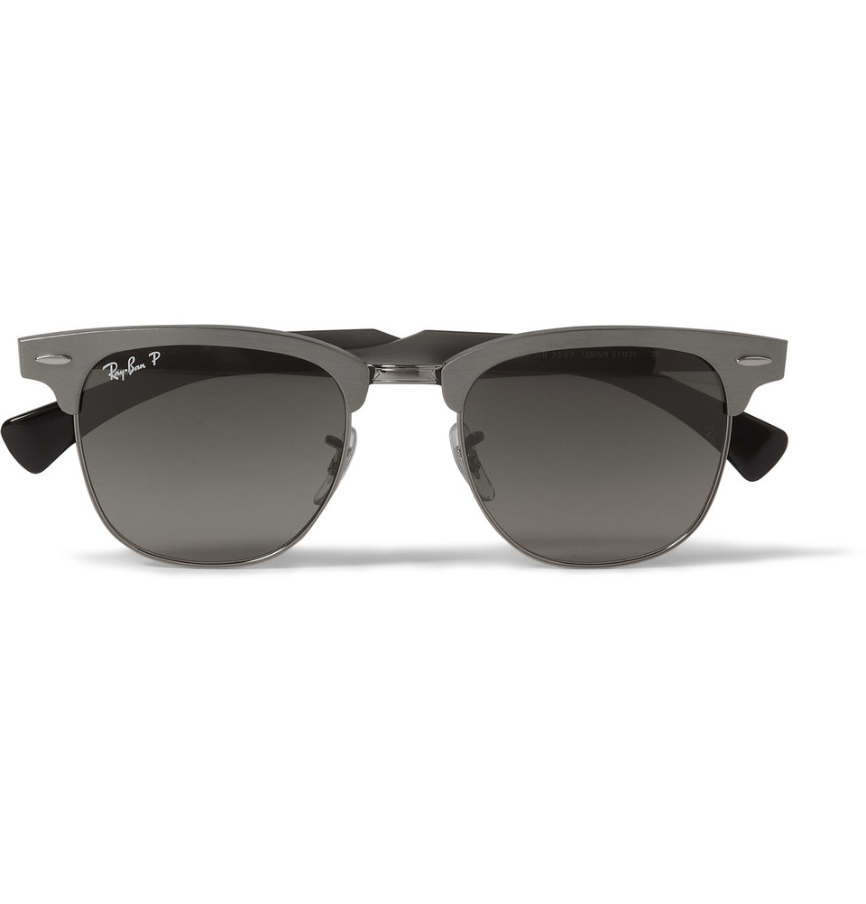 33f52eb6f4728 Gallery. Previously sold at  MR PORTER · Men s Ray Ban Clubmaster Men s  Rimless Sunglasses ...
