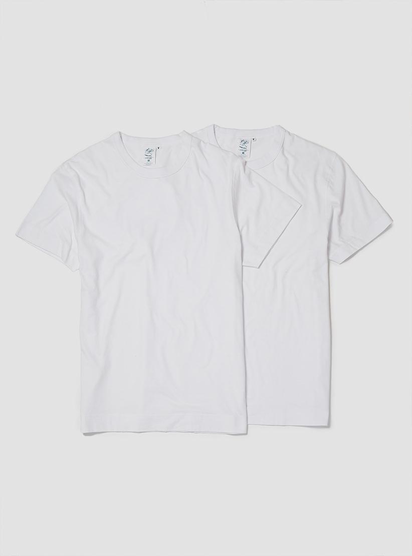 9db67b06d7b45 Lyst - Garbstore Twin Packet Plain Tees White   White in White for Men