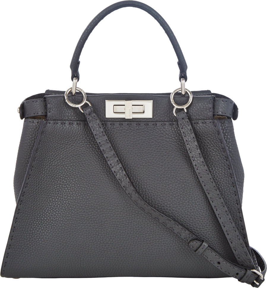 cb6340595d Fendi Grey Bag