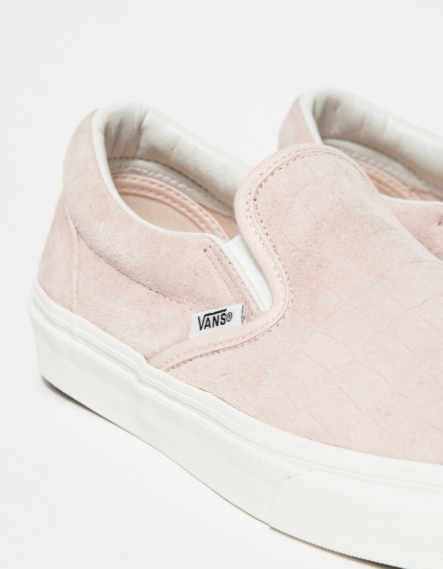 Slip On Shoes In Light Suede