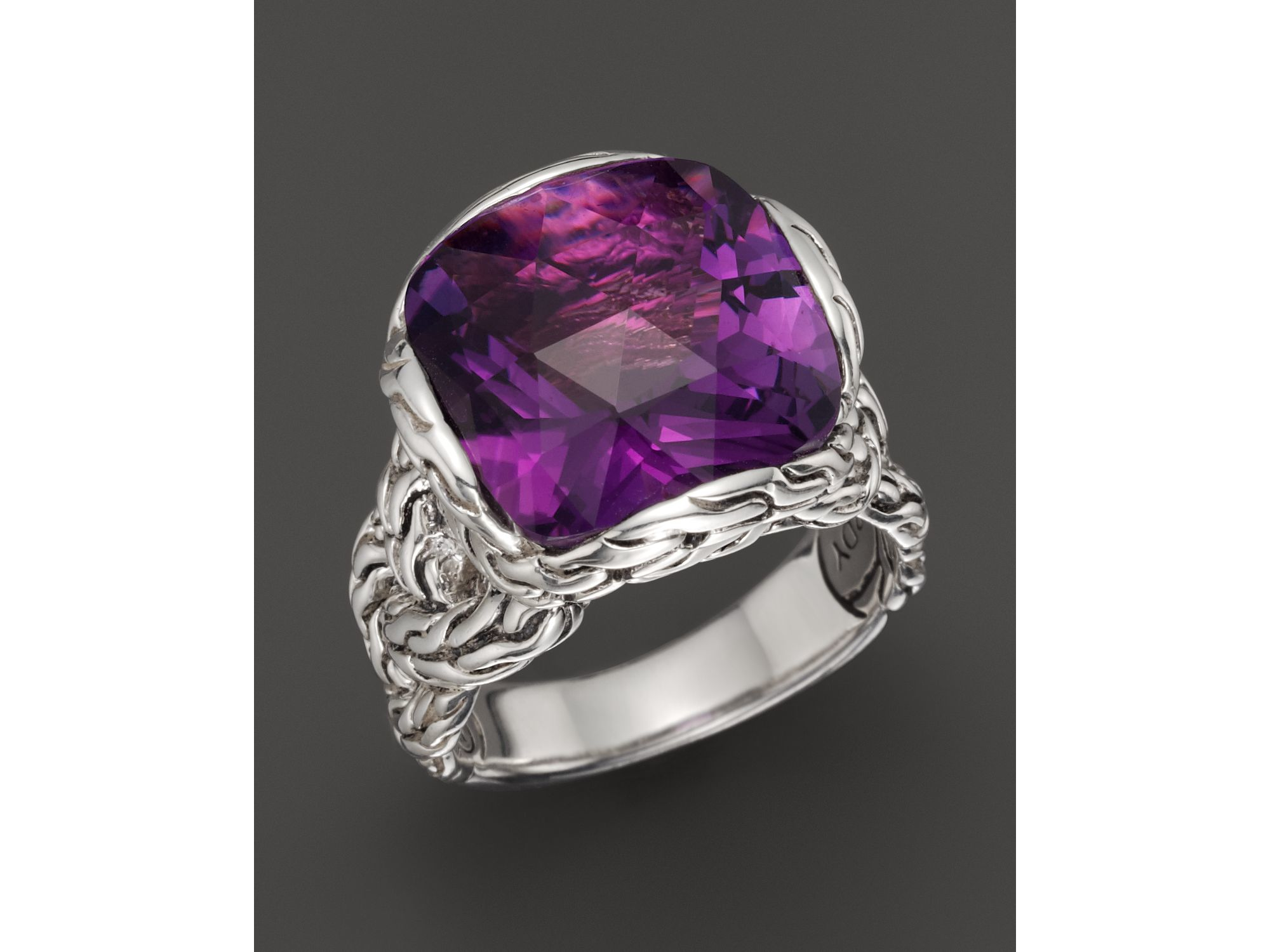 hover to silver zm kay rings ring mv purple sterling accents amethyst diamond with kaystore zoom en