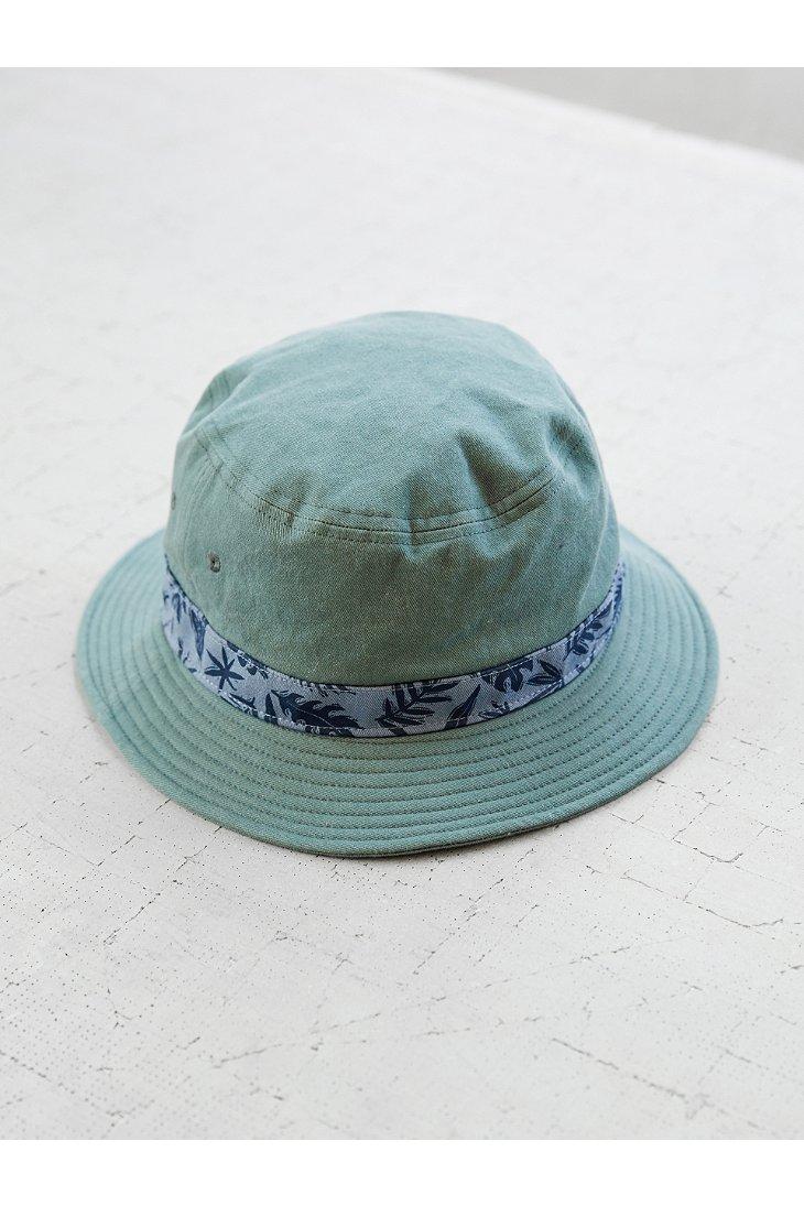 Free knitting pattern  brand new cff98 e3165 Lyst - Vans Gregg Kaplan Bucket  Hat in Green for Men ... 603d26f2763e