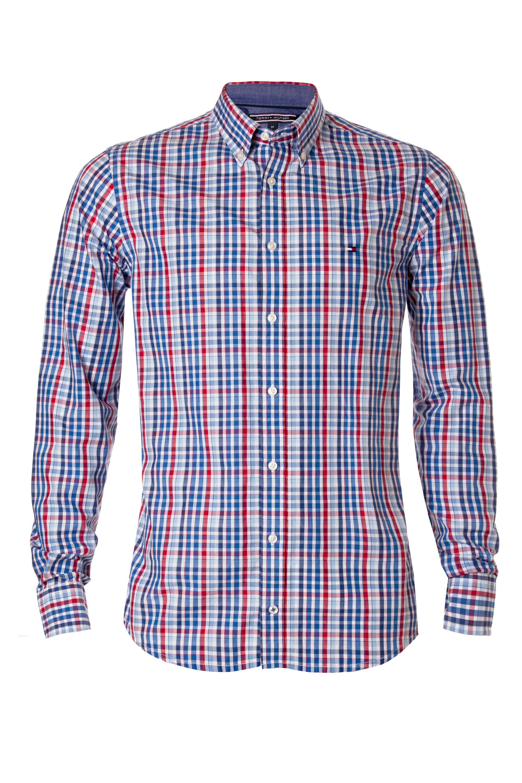 Tommy Hilfiger Oconnor Short Sleeve Shirt In Blue For Men