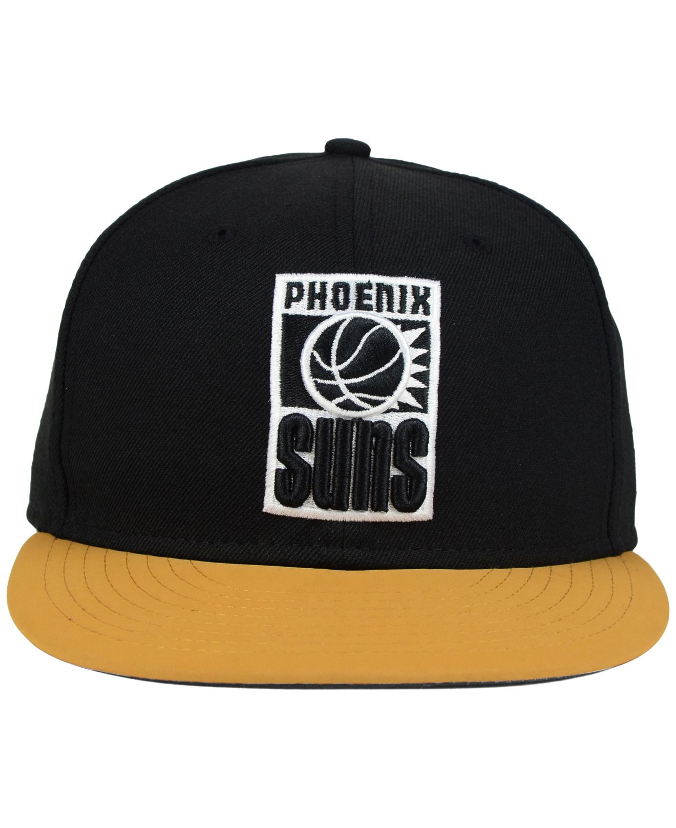 premium selection 954f4 4b1d7 ... coupon code lyst ktz phoenix suns nu viz 9fifty snapback cap in black  for men 6d8e2