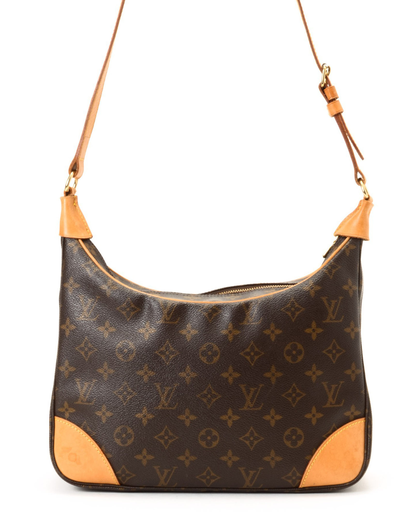 lyst louis vuitton shoulder bag vintage in brown. Black Bedroom Furniture Sets. Home Design Ideas