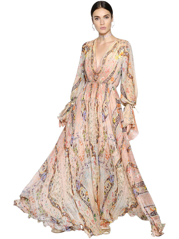Consider, that floral silk chiffon dress