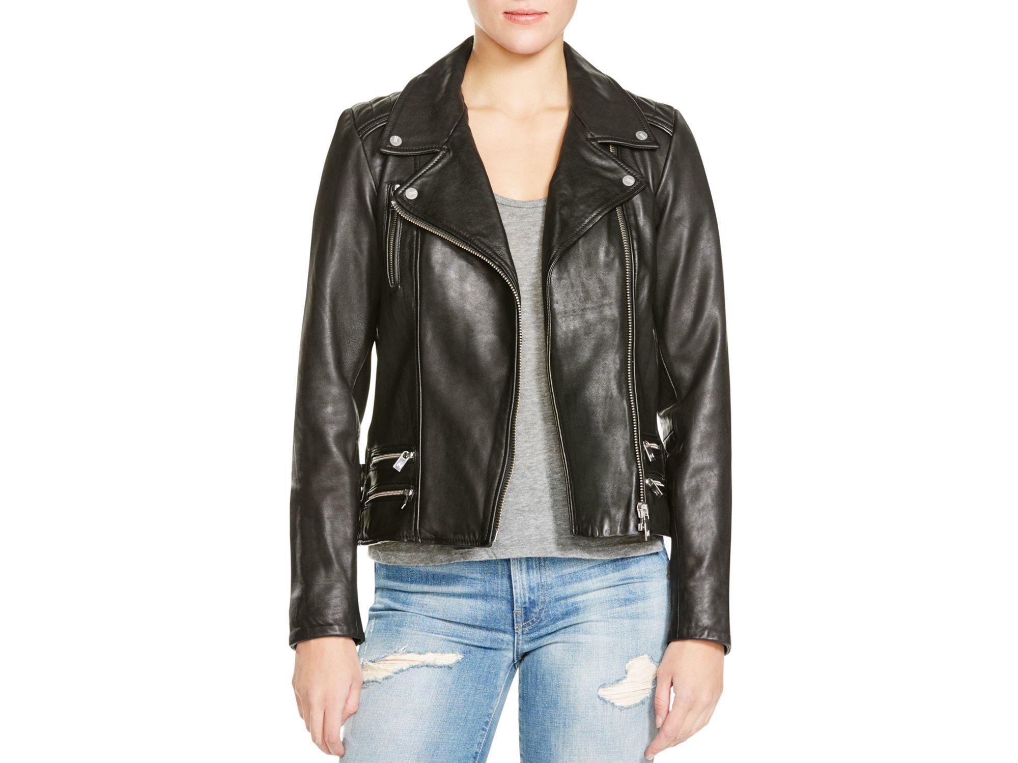 Scotch & soda leather jacket