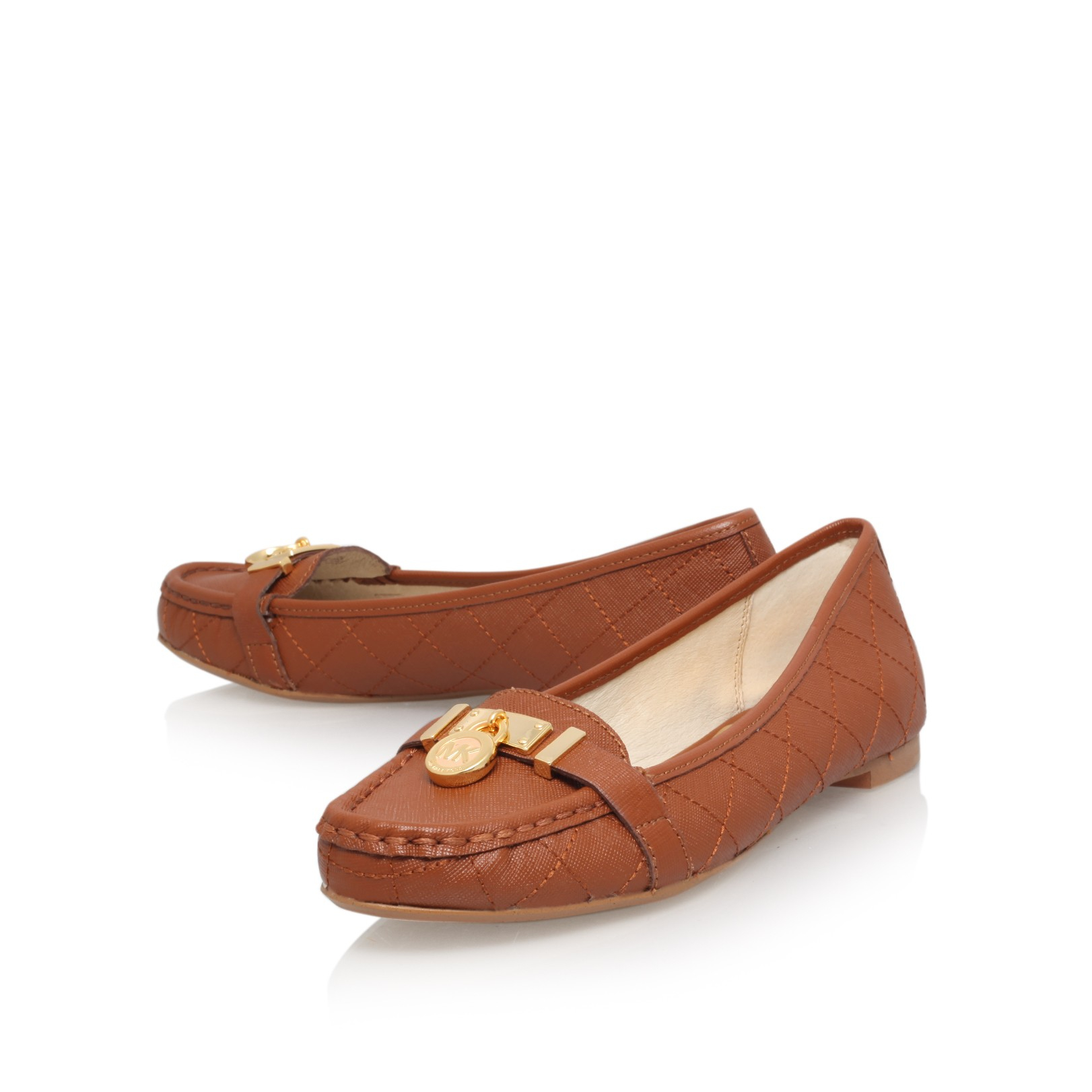 3a0d27c4977 MICHAEL Michael Kors Hamilton Loafer in Brown - Lyst