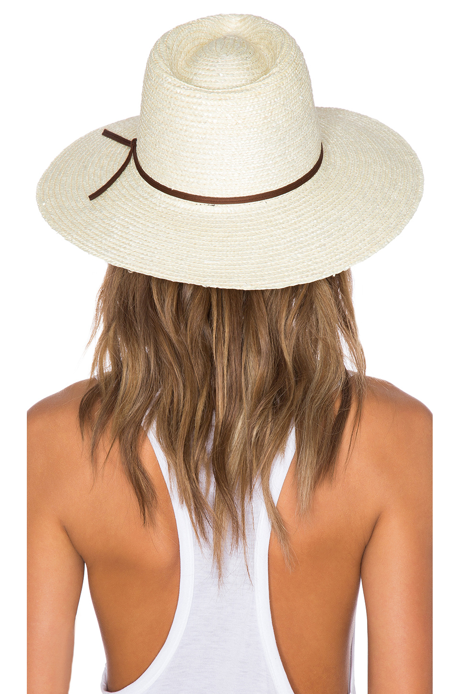 7cbc81c6a87df ... usa lyst brixton bristol hat in natural 02e85 221e1