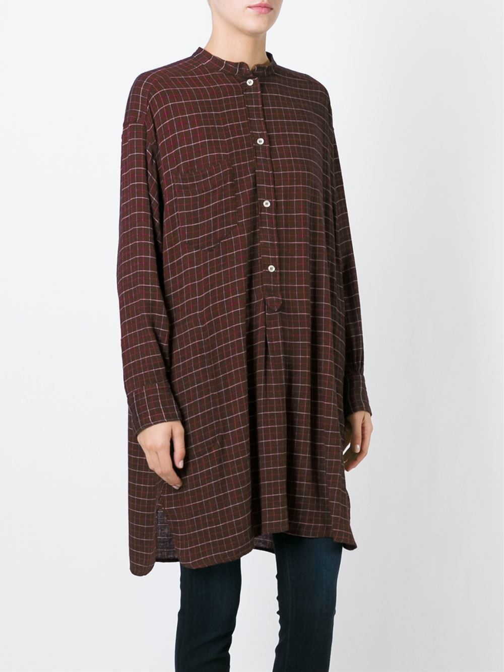 Toile Isabel Marant 39 Peneloppe 39 Shirt Dress In Red Lyst