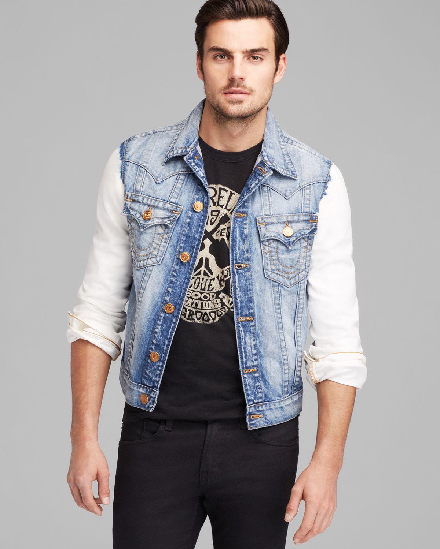 0f851deb95c28 True Religion Jimmy Western Jacket in Blue for Men - Lyst