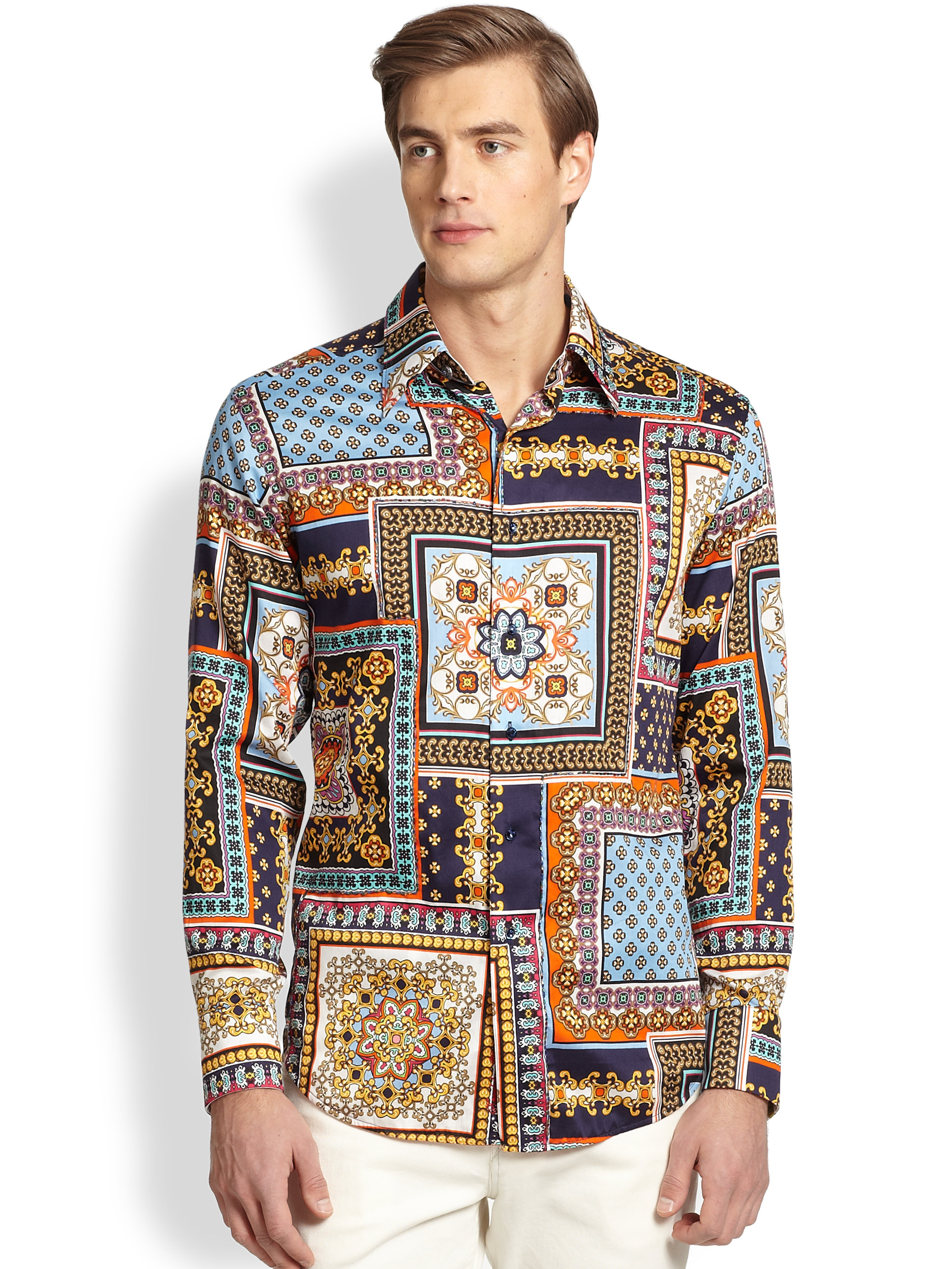 robert graham limited edition isla george sportshirt for