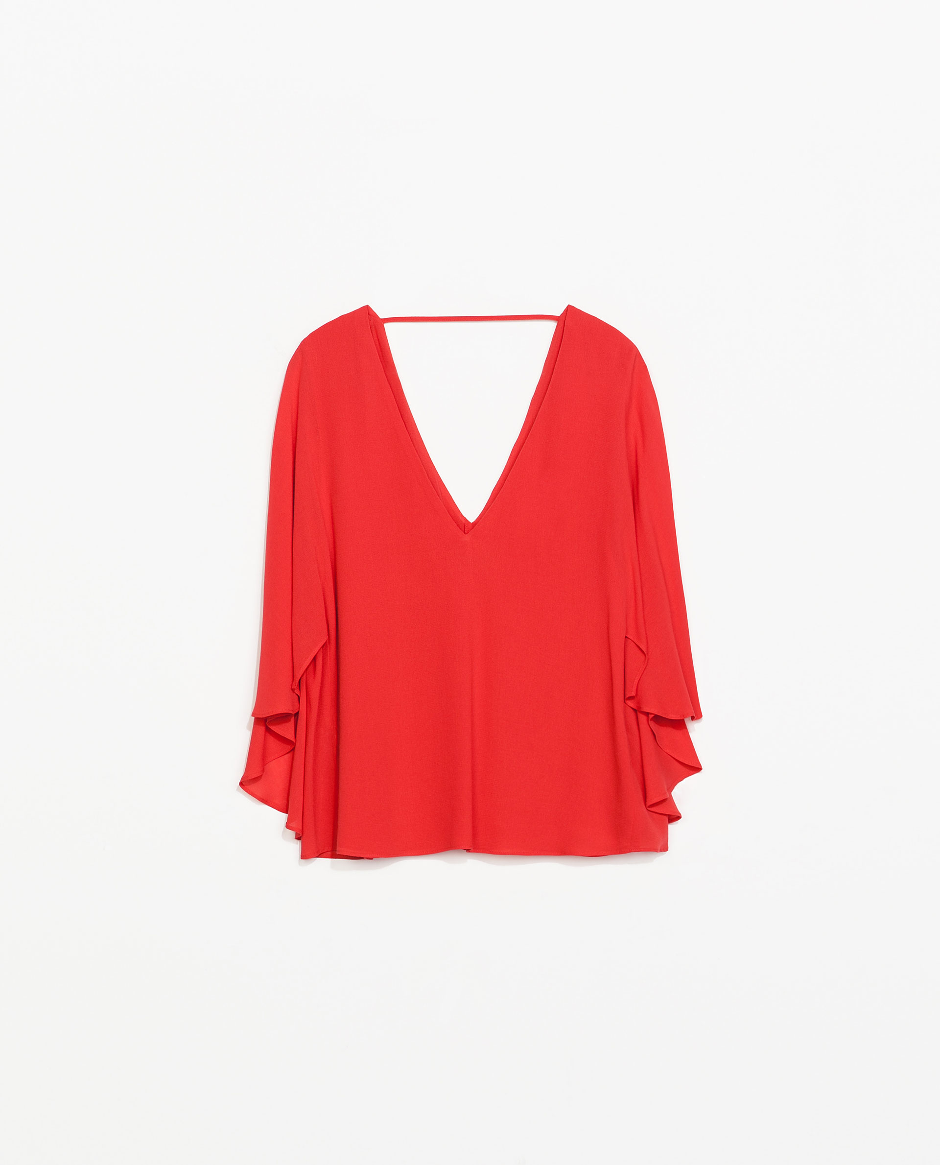 Zara Red Blouse 92