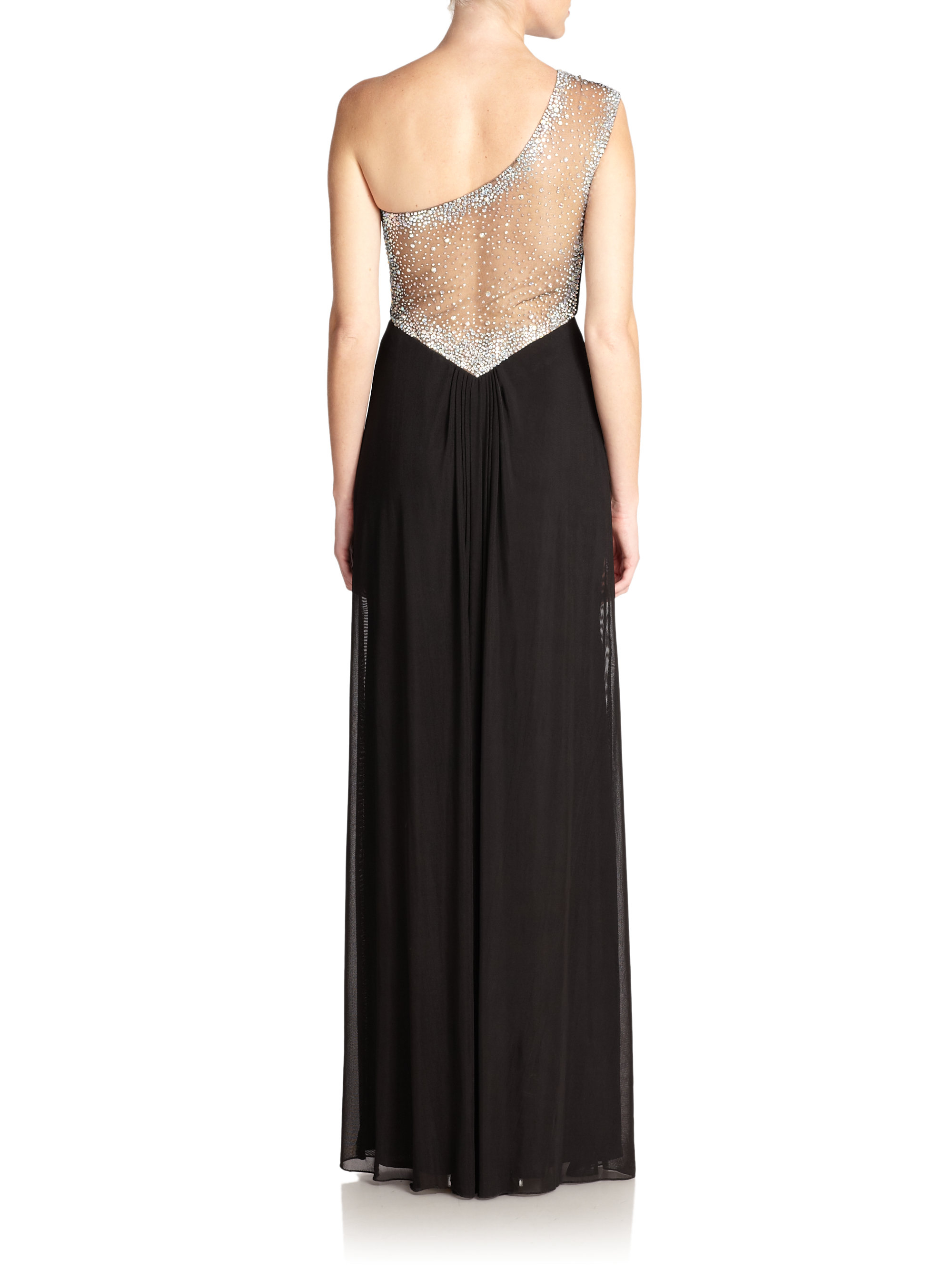 La femme one shoulder dress consider