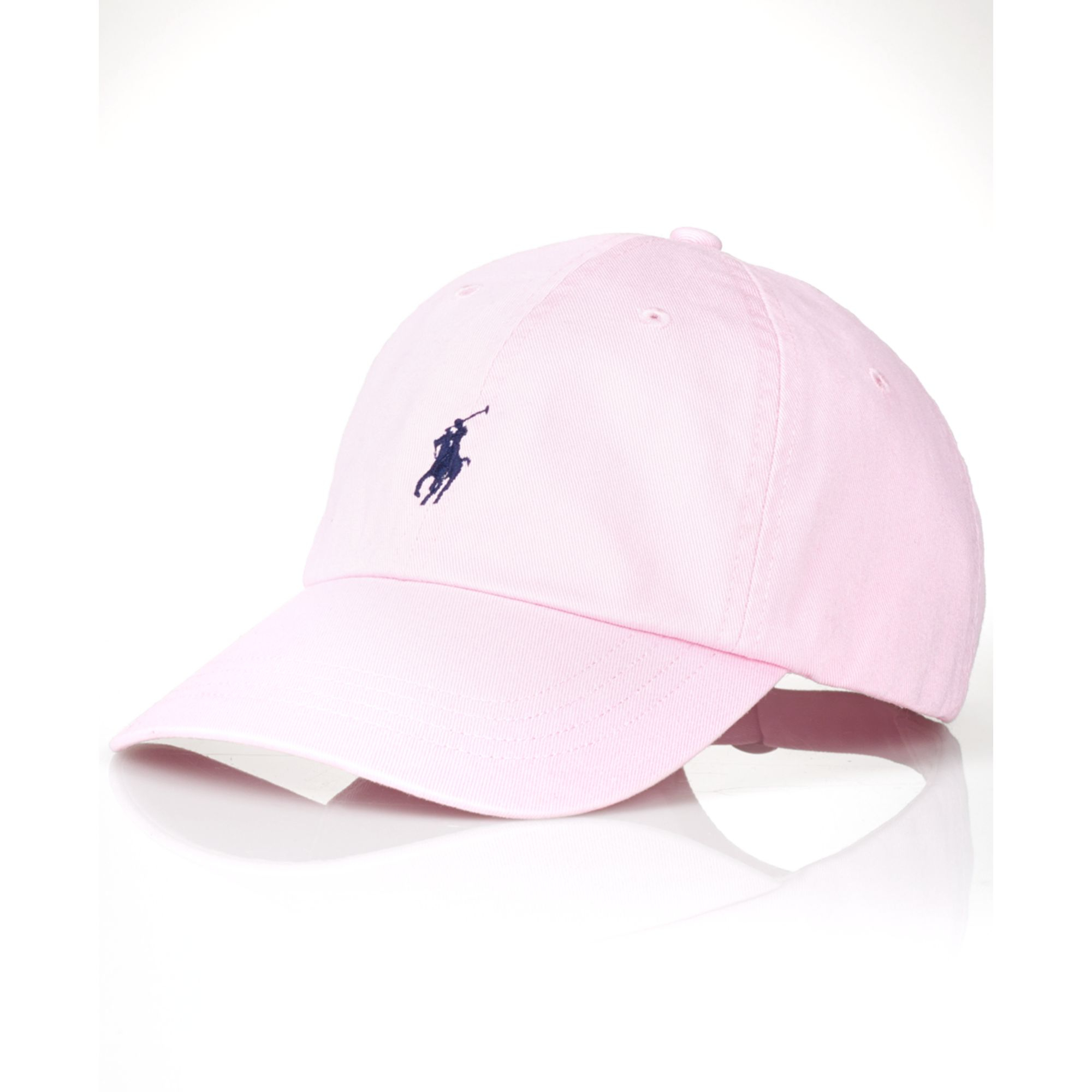 ralph lauren polo classic chino sports cap in pink for men. Black Bedroom Furniture Sets. Home Design Ideas