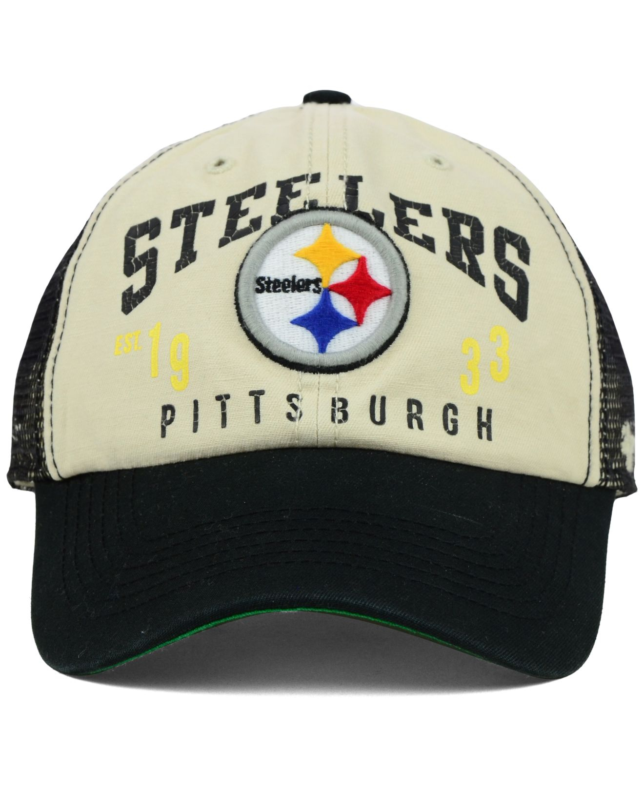b21c14376389b Lyst - 47 Brand Pittsburgh Steelers Underwood Clean Up Cap in Blue ...