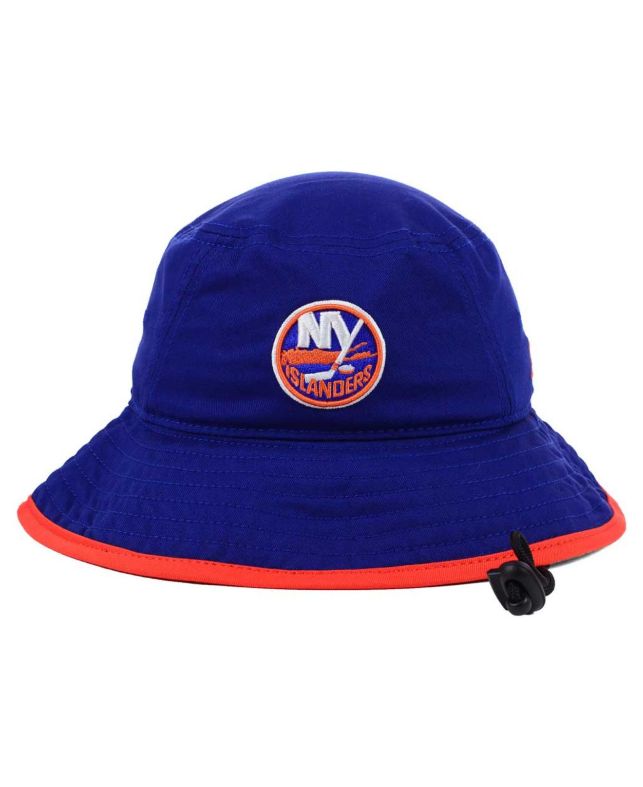 ... cap official 2017 nhl draft stretch fit fitted hat 5ab5e 1ec99  uk lyst  ktz new york islanders basic tipped bucket hat in blue for men 3484f bdc6f 8dc22f8570af