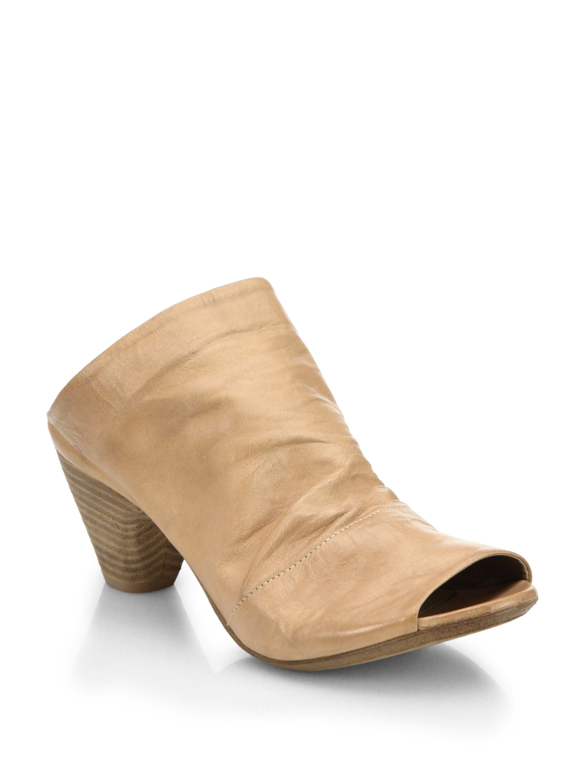 Marsèll peep toe mules outlet low shipping fee finishline cheap price cheap visit new MWtBV