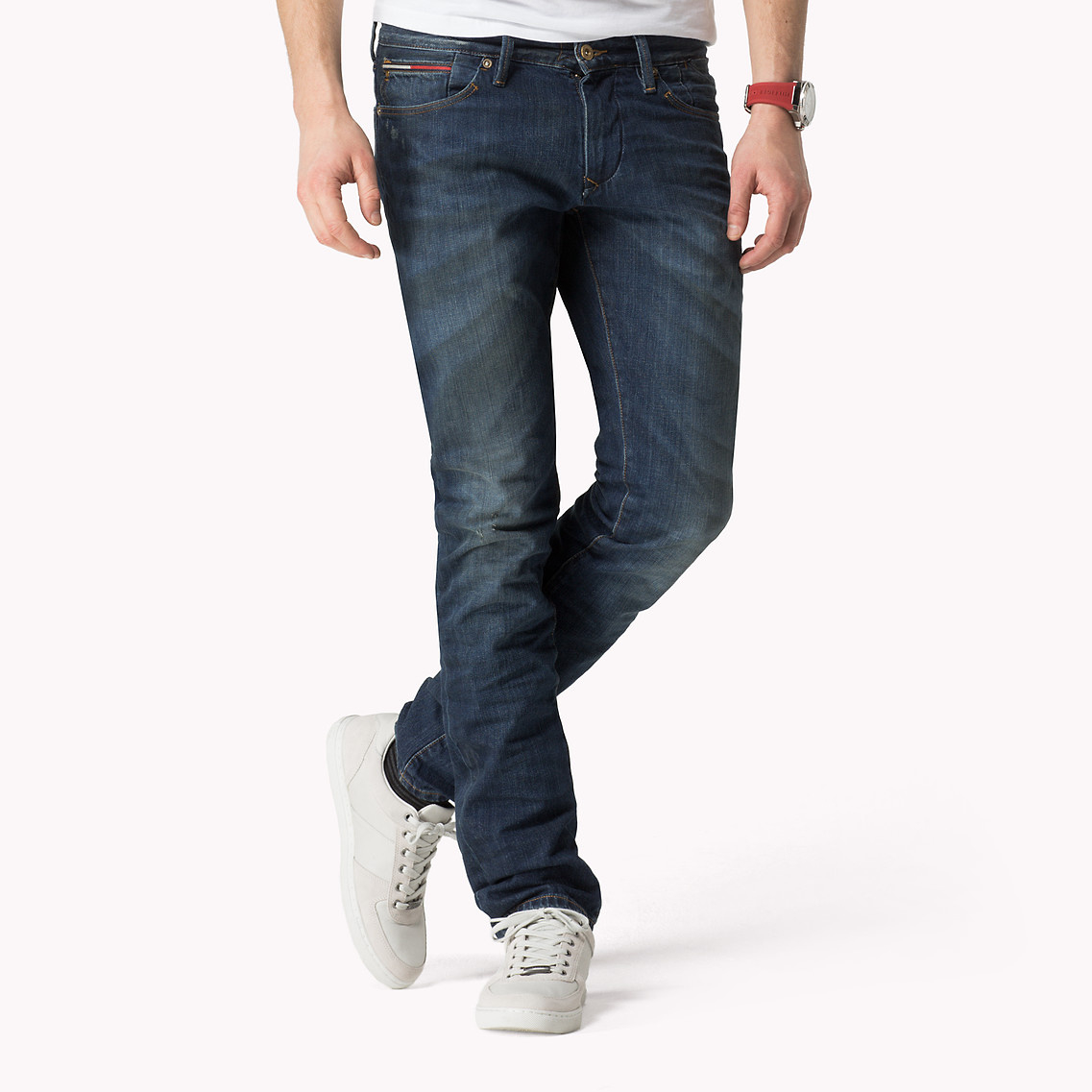 Tommy Hilfiger Slim Fit Jeans in Blue for Men - Lyst 64bc9a8ccb