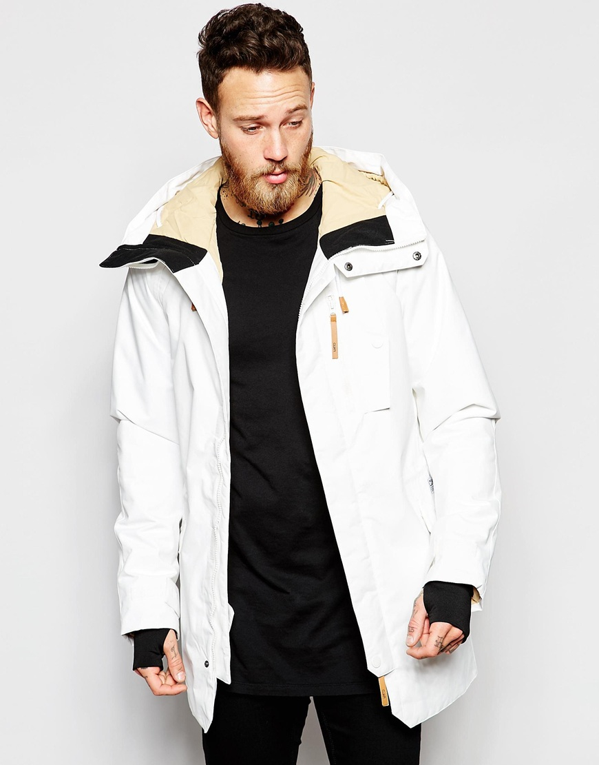 Clwr Parka With Insulation in White for Men | Lyst