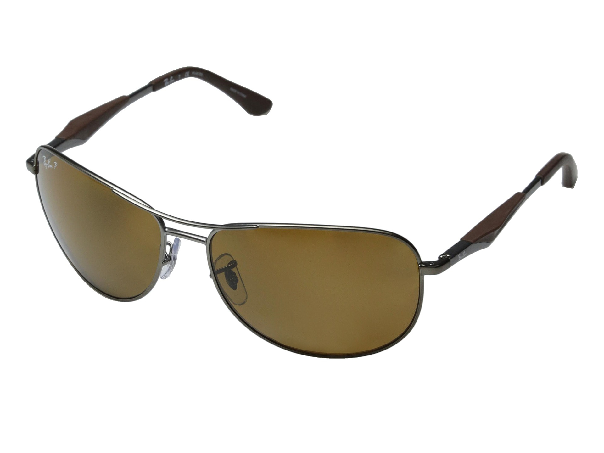 90a0cb61750 Lyst - Ray-Ban Rb3519 62mm in Metallic for Men