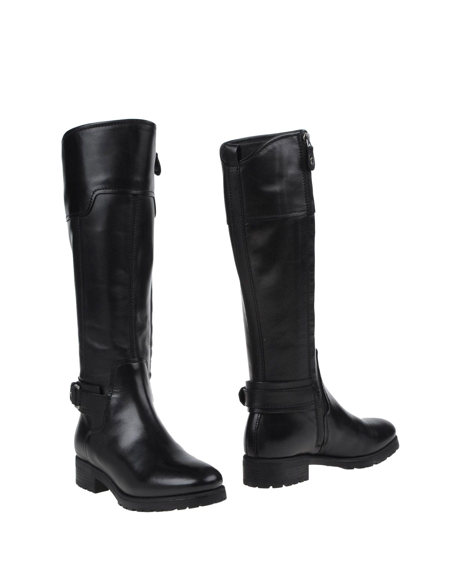 Original Geox D Felicity Black Womens Boots | TReds