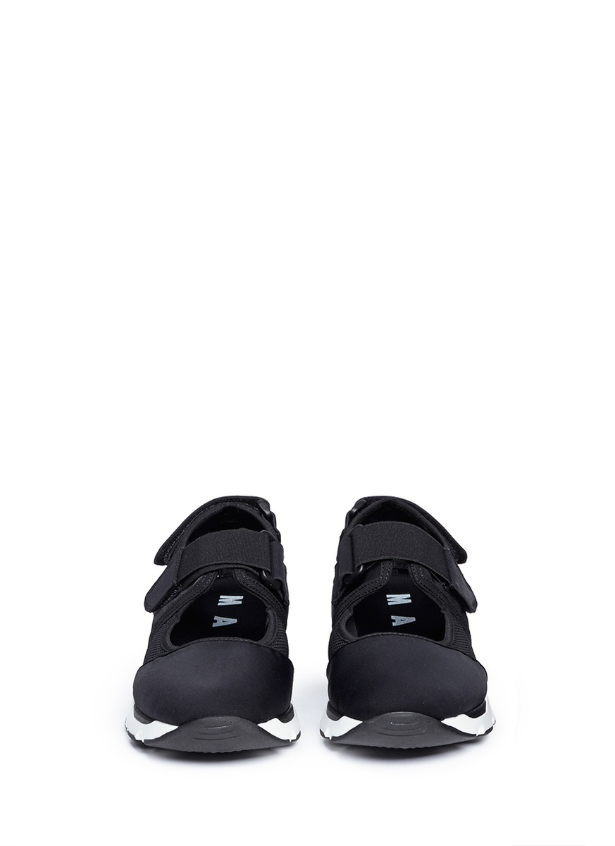 ... Lyst - Marni Strap Mesh Neoprene Sneakers in Black low price sale 50957  b2cdd  I2C1 black glitter ... f9bbd8dd9
