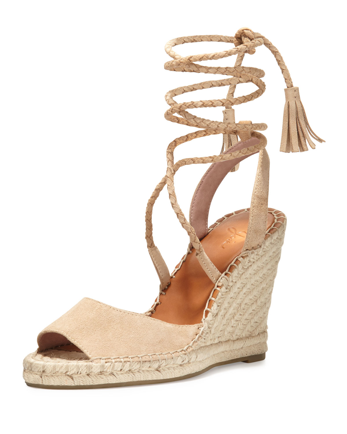 3cc3934e7c8 Lyst - Joie Phyllis Suede Wedge Espadrilles in Natural