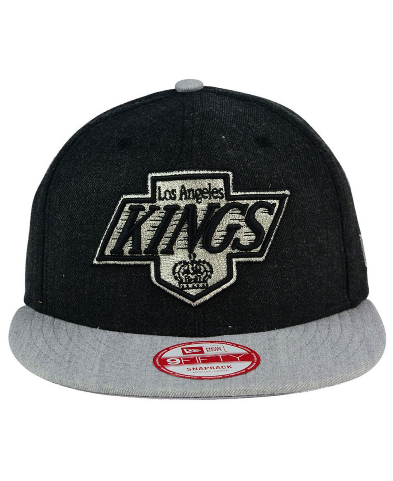 new style 913e3 a9ff0 Lyst - KTZ Los Angeles Kings Heather Action 9fifty Snapback Cap in ...