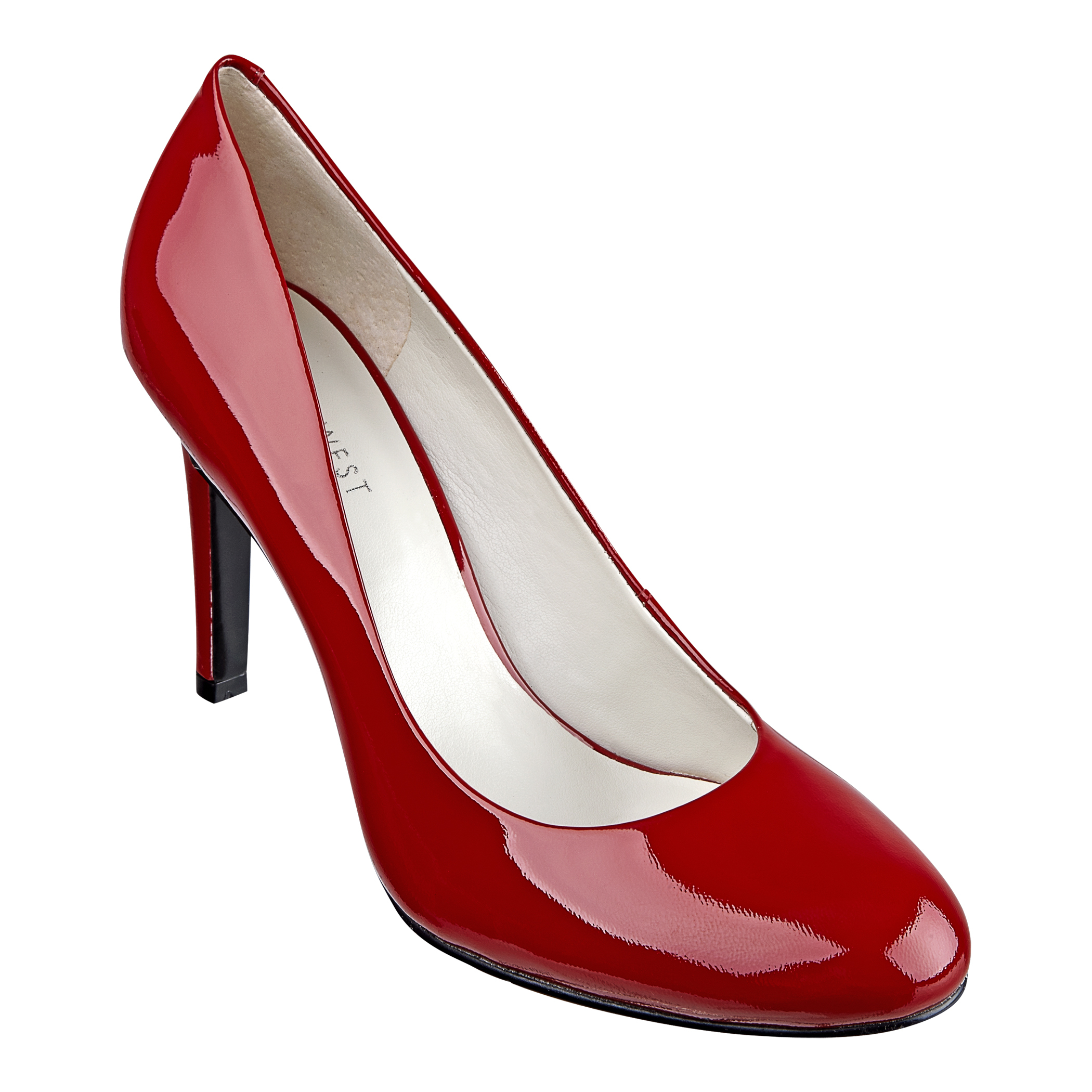 80695b7c8 Nine West Caress Round Toe Pump in Red - Lyst